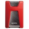 HDD Adata DashDrive Durable HD650, 1Тб, красный, купить за 3 460руб.