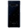 Чехол для смартфона Samsung для Samsung S10+ LED Cover черный, купить за 2680руб.