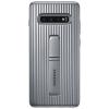 Чехол для смартфона Samsung для Samsung S10+ Protective Standing Cover серебристый, купить за 1810руб.