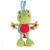 Игрушку для малыша Подвесная музыкальная игрушка-растяжка Лягушка HAPPY BABY 330361, купить за 760руб.