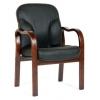 Кресло офисное Chairman 658 кожа черная, купить за 11 373руб.