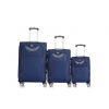 Чемодан L`case Amsterdam YY-8948  22,5х39х65 см синий, купить за 2810руб.