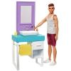 Кукла Набор Mattel Barbie Ken и набор мебели (FYK51)(FYK53), купить за 2 875руб.