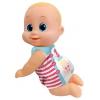 Кукла Bouncin Babies Баниэль ползущая, 16 см (802002) в комбинезоне, купить за 1 020руб.
