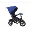 Трехколесный велосипед Moby Kids New Leader 360 12x10 AIR Car, (641211) синий, купить за 9 835руб.