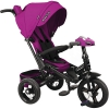 Трехколесный велосипед Moby Kids New Leader 360 12x10 AIR Car, (641212), ягодно-пурпурный, купить за 9 835руб.