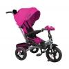 Трехколесный велосипед Moby Kids New Leader 360 12x10 AIR Car, (641213), розовый, купить за 9 985руб.