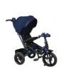 Трехколесный велосипед Moby Kids New Leader 360 12x10 AIR Car, (641210), темно-синий, купить за 10 005руб.