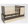 Детскую кроватку SKV company СКВ-5 (5 ящиков) Венге-фасад береза, купить за 7370руб.