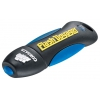usb-флешка Corsair Flash Voyager USB 2.0 8Gb, черно-синяя