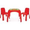 Комплект детской мебели Pilsan King (03-422-T) стол и 2 стула, купить за 4 755руб.