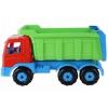 Игрушки для мальчиков Автомобиль-самосвал Полесье Премиум, красный/зеленый, купить за 1215руб.