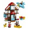 Конструктор LEGO Duplo 10889 Летний домик Микки (57 деталей), купить за 3 690руб.