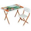 Комплект детской мебели ДЭМИ Damibaby evro Джейк и пираты Нетландии оранжевый, купить за 3 880руб.