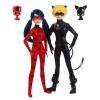 Кукла Bandai LadyBug & Cat Noir Леди Баг и Супер-Кот, 27 см, 39810, купить за 3 985руб.