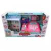 Игрушки для девочек Наша Игрушка Магазин, касса с микрофоном (8188A 6) 25 предметов, купить за 1 475руб.