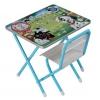 Комплект детской мебели Дэми 1 101 Далматинец, (Д.1.Г) голубой, купить за 2 420руб.