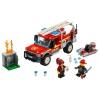 Конструктор LEGO City 60231 Грузовик начальника пожарной охраны (для мальчика), купить за 1 470руб.
