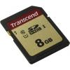 Карта памяти SDHC Transcend TS8GSDC500S 8Gb,  Class 10, V30 R95, W60MB/s, купить за 715руб.
