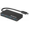 USB концентратор Defender  Quadro Transfer (83208) черный, купить за 995руб.