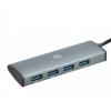 USB концентратор Digma HUB-4U3.0-UC-G серый, купить за 920руб.