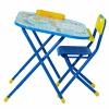 Комплект детской мебели Дэми Дошколёнок Блокнот (у2р.1.Син) синий, купить за 2 660руб.