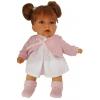 Кукла Munecas Antonio Juan 1222P Дели в розовом, озвучка, 27 см, купить за 3 965руб.