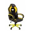 Игровое компьютерное кресло Chairman game 16 экопремиум (7028514), черное/желтое, купить за 6390руб.
