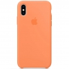 Чехол для смартфона Apple Silicone Case для iPhone X/XS - Папайя (MVF22ZM/A), купить за 2840руб.