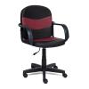 Компьютерное кресло TetChair Багги, черное/бордо, купить за 3 590руб.