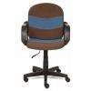 Компьютерное кресло TetChair Багги, коричневое/синее, купить за 3 590руб.