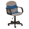Компьютерное кресло TetChair Багги, серое/синее, купить за 3 590руб.