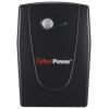 Источник бесперебойного питания CyberPower VALUE600EI-B, черный, купить за 3 490руб.
