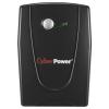Источник бесперебойного питания CyberPower VALUE700EI-B black 700VA/360W, купить за 3 845руб.