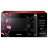 Микроволновая печь Samsung MG23H3115FR, черно-красная, купить за 10 880руб.