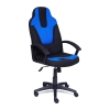 Компьютерное кресло TetChair NEO3 ткань,2603/2601, черный/синий, купить за 6 990руб.