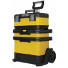 Ящик для инструментов Stanley Black&Decker inc.  Rolling Workshop 1-95-621, с колесами, желтый, купить за 15 995руб.