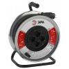 Удлинитель электрический ЭРА RM-4-3x1.5-30m-IP44, металлическая катушка, купить за 3 005руб.