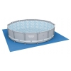 Бассейн каркасный BestWay Power Steel 56641 BW (427x427x107 см, 13030 л, круглый), купить за 15 850руб.