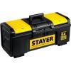 Ящик для инструментов STAYER Professional  TOOLBOX-24, black - yellow, купить за 1 265руб.