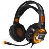 Гарнитура для пк Crown CMGH-3003, черно-оранжевый, купить за 1 890руб.