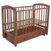 Детская кроватка Малика Sona-3 с ящиком, орех светлый, купить за 9 950руб.