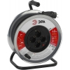 Удлинитель электрический ЭРА RM-4-3x1.5-40m-KG, металлическая катушка, купить за 3 365руб.