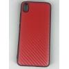 накладка G-Case Carbon для Xiaomi Redmi 7A, красная, купить за 735руб.