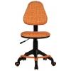 Кресло офисное Бюрократ KD-4-F/GIRAFFE оранжевый жираф, купить за 4 290руб.