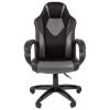 Игровое компьютерное кресло Chairman game 17 экопремиум (7024558), черное/серое, купить за 7309руб.