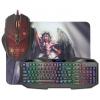 Комплект Defender Anger MKP-019 RU (52019) (клавиатура + мышка + коврик), купить за 1 270руб.