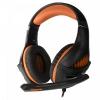 Гарнитура для пк Crown CMGH-2003 Black&orange, полноразмерные, купить за 1 225руб.