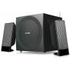 Компьютерная акустика Microlab M-300U (2.1, USB + SD + FM-радио), чёрный, купить за 5 245руб.