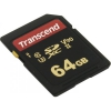Карту памяти Transcend TS64GSDC700S 64Gb, Class 10, UHS-II U3, MLC, купить за 3815руб.